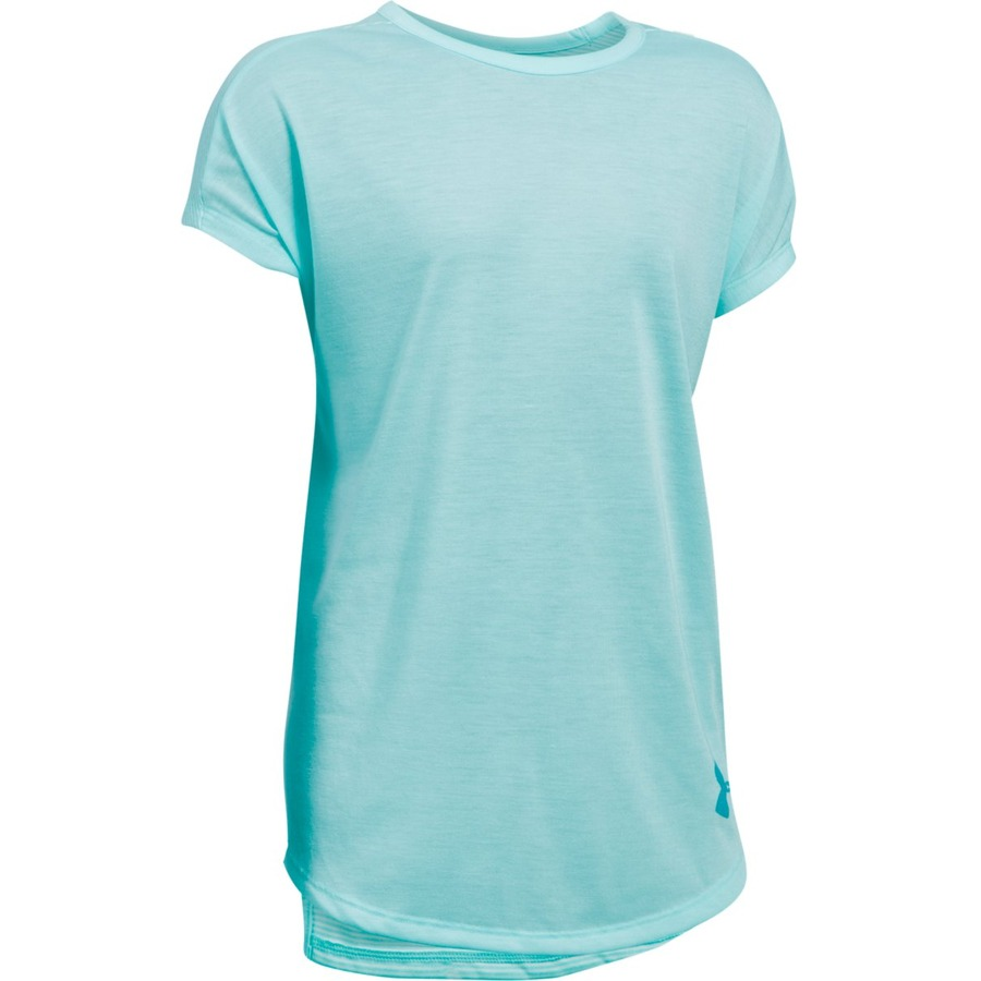 Under Armour Threadborne Play Up Tee Blue InfinityBlue InfinityBlue Shift - YXS
