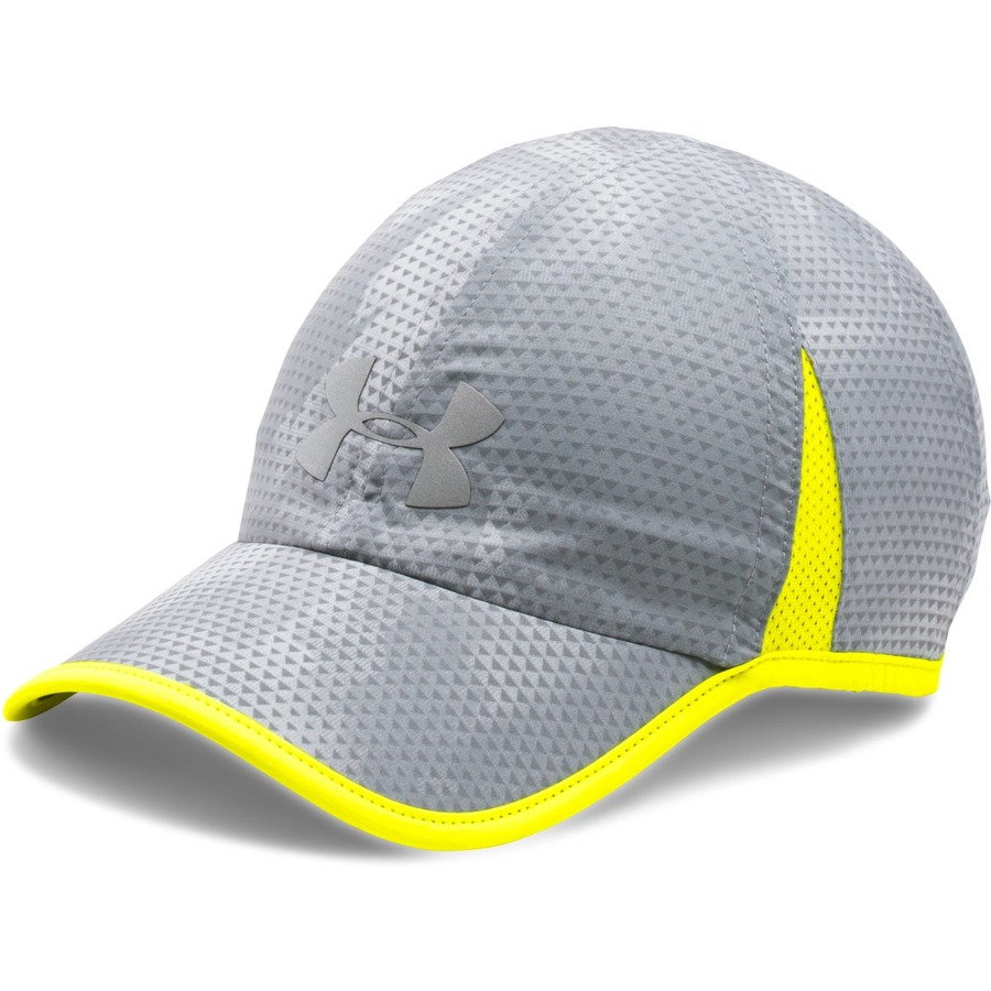 Under Armour Mens Shadow Cap 4.0 Grey - OSFA