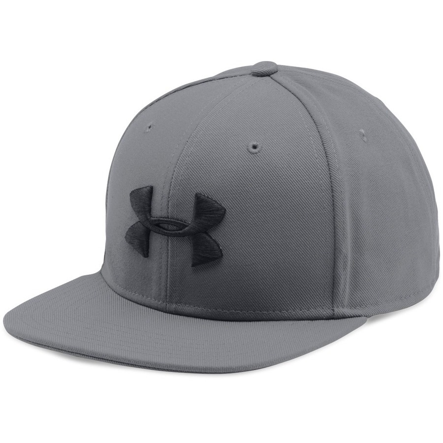 Under Armour Mens Huddle Snapback Graphite - OSFA