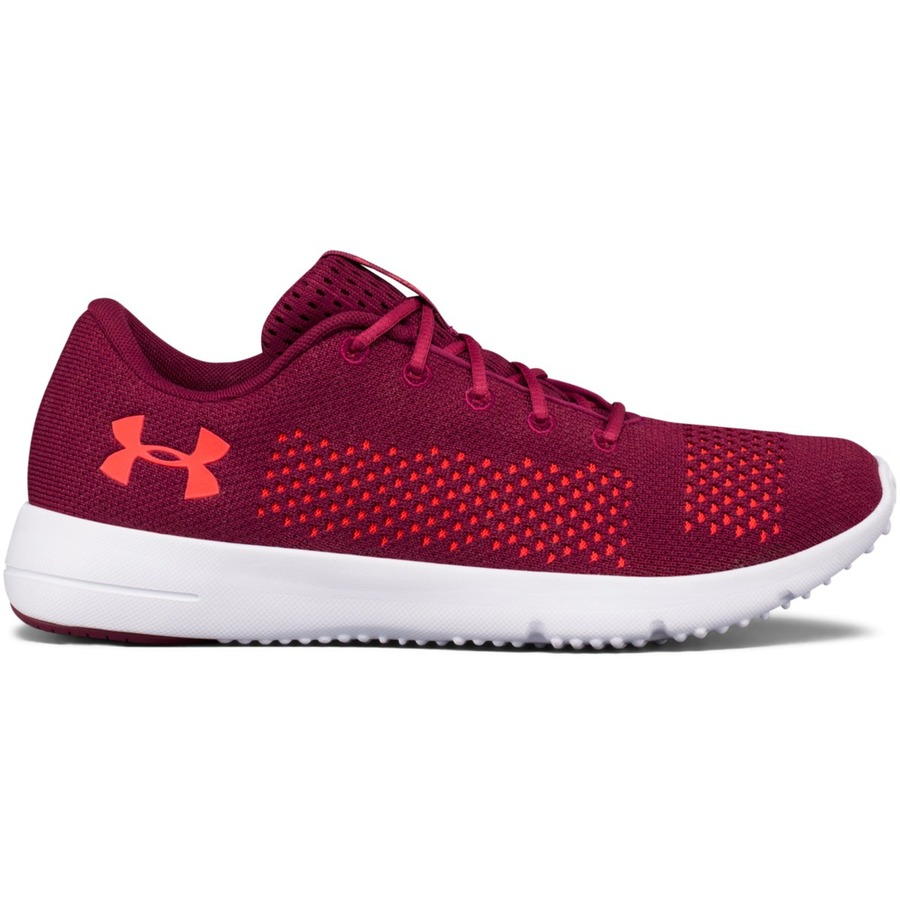 Under Armour W Rapid Black CurrantWhiteMarathon Red - 5,5