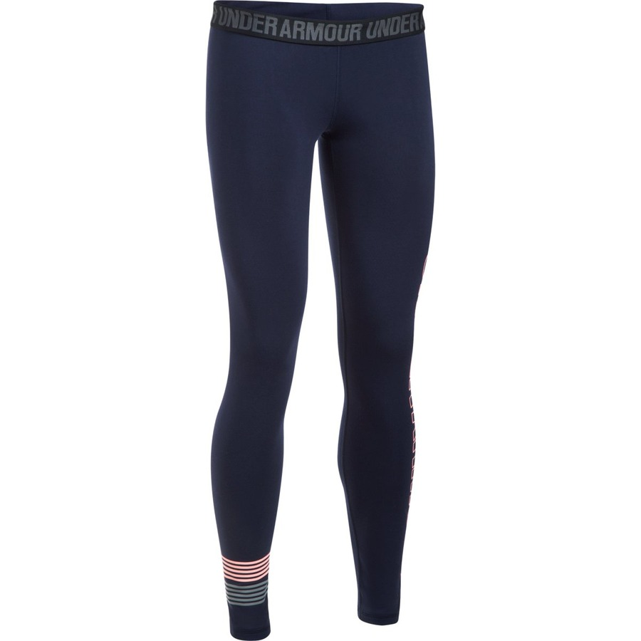 Under Armour Favorite Legging WM Graphic Midnight NavyCape CoralSteel - S