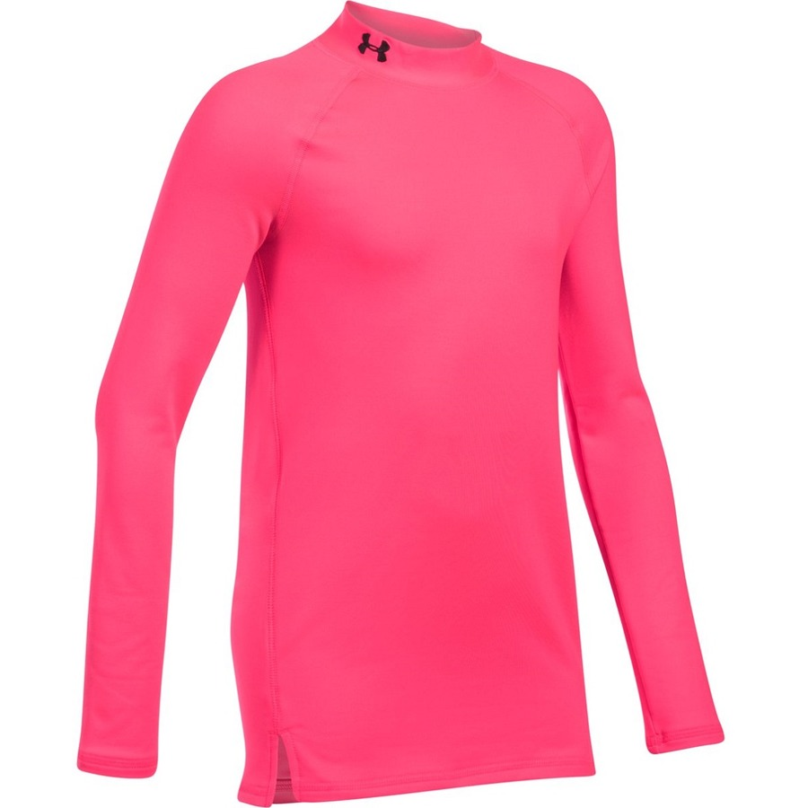 Under Armour ColdGear Mock PENTA PINK  PENTA PINK  BLACK - YS