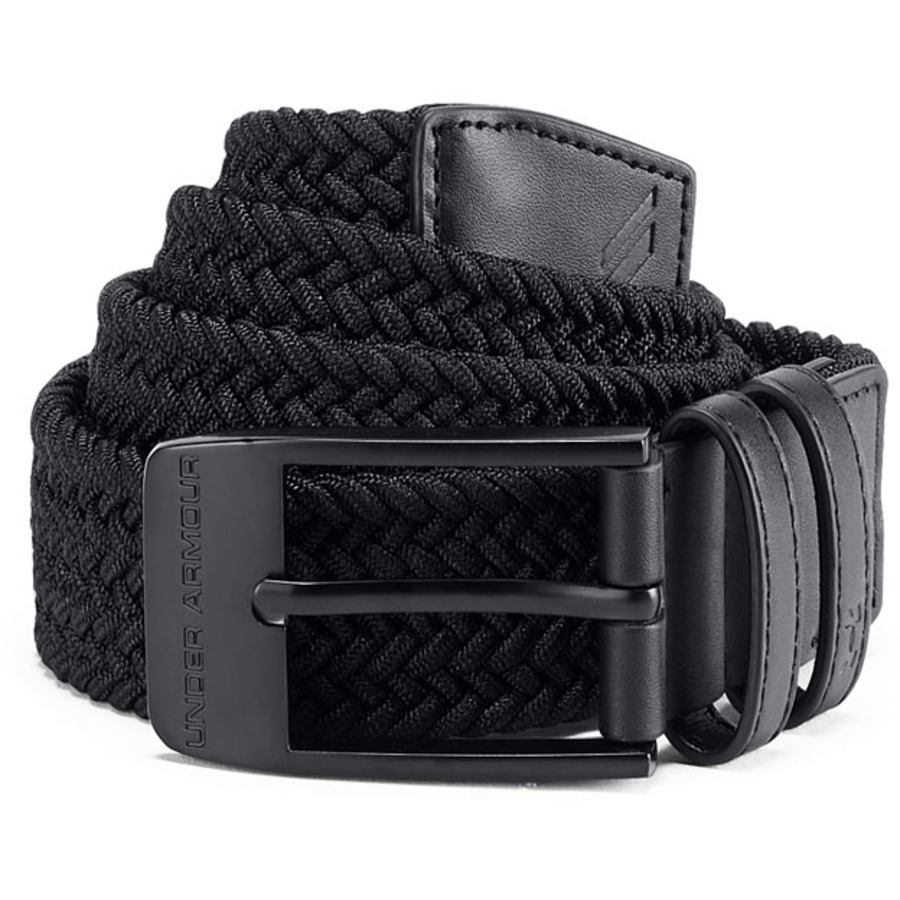 Under Armour Mens Braided 2.0 Belt BlackBlack - 40