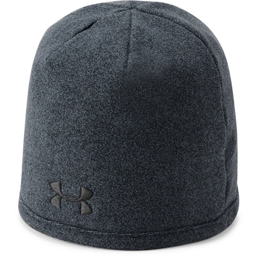 Under Armour Mens Survivor Fleece Beanie BlackGraphite - OSFA