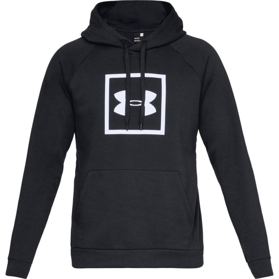 Pánská Mikina Under Armour Rival Fleece Logo Hoodie  Black/white