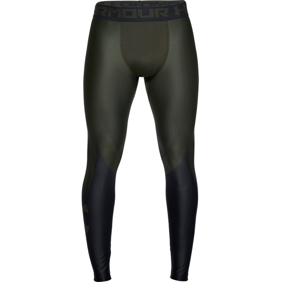 Under Armour HG Armour 2.0 Legging Grphc Artillery GreenBlack - S