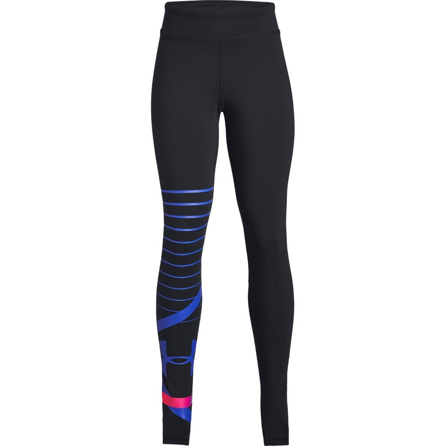Under Armour Finale Knit Legging BlackConstellation Purple - YL