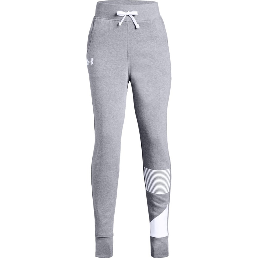 Under Armour Rival Jogger Steel Light HeatherWhite - YM