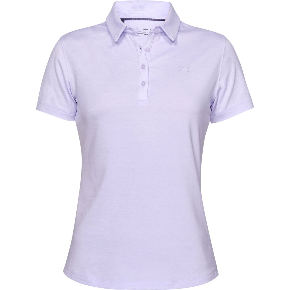 Under Armour Zinger Short Sleeve Polo Salt Purple - XS
