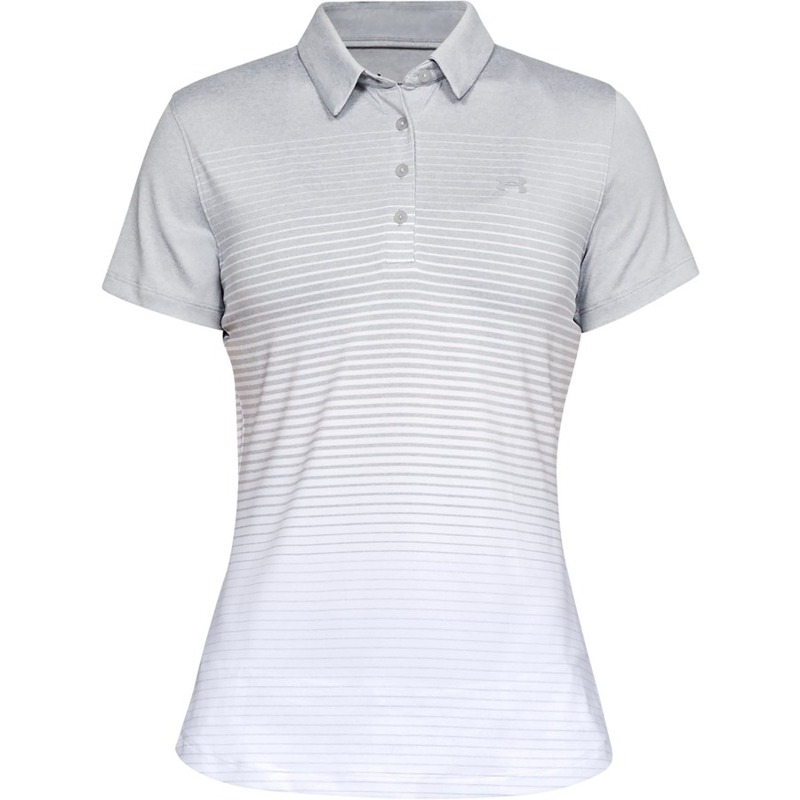 Under Armour Zinger Short Sleeve Novelty Polo Mod Gray - XS