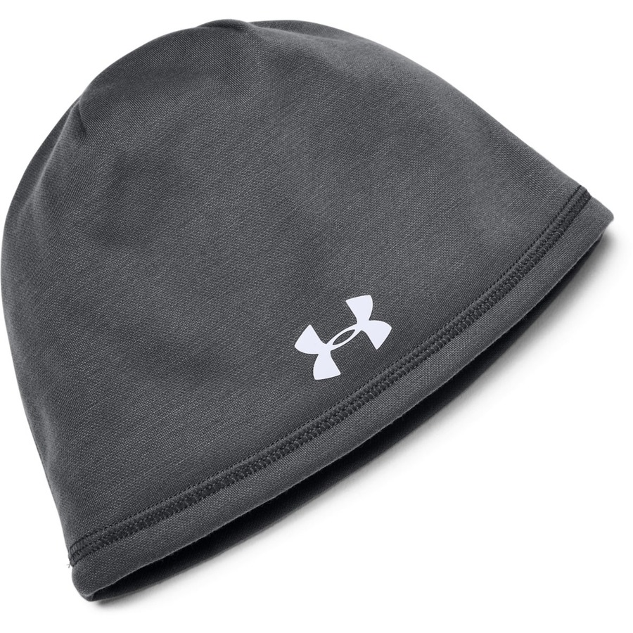 Under Armour Mens Blank Storm Beanie Graphite - OSFA
