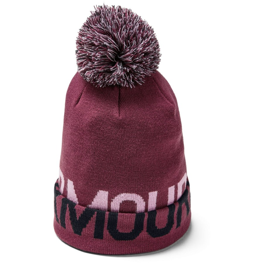 Under Armour Graphic Pom Beanie Level Purple - OSFA