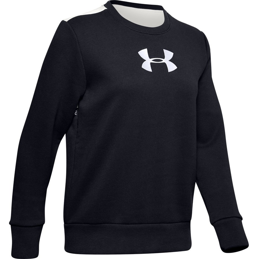 Under Armour Originators Fleece Crew Logo Black - XS