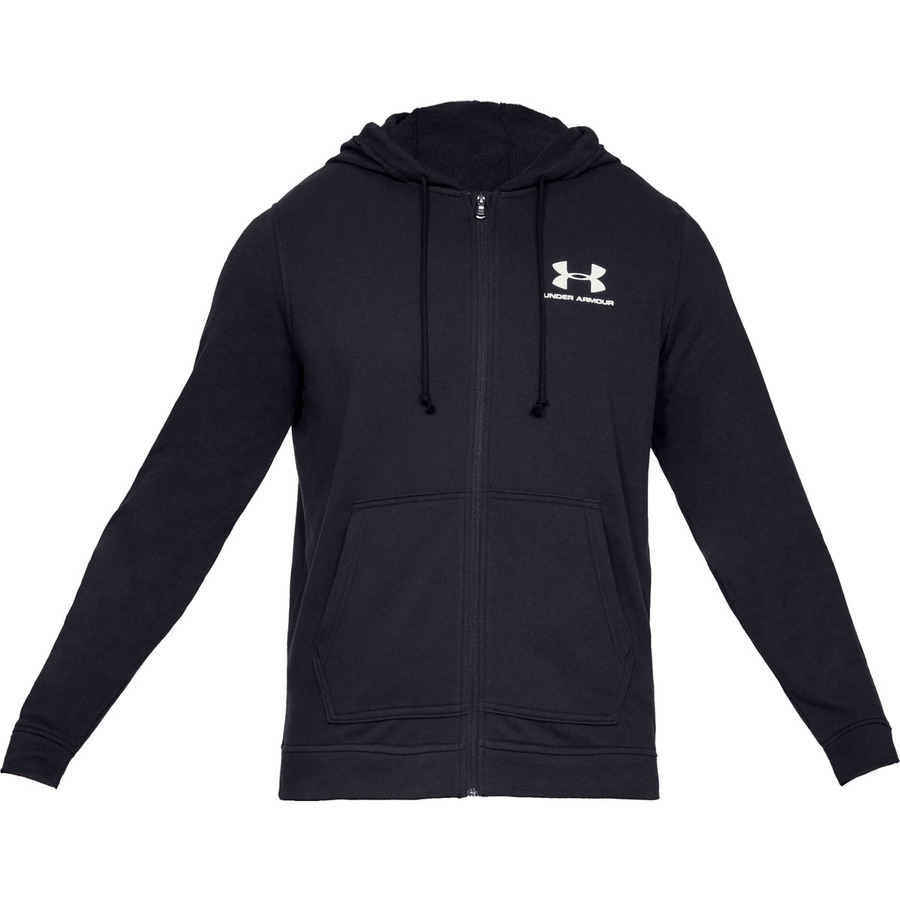 Under Armour Sportstyle Terry FZ Black - S