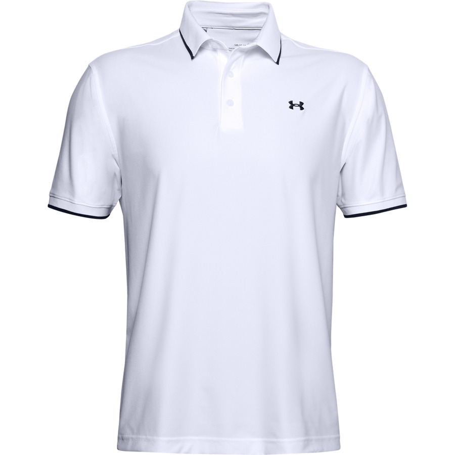 Pánské Triko Under Armour Playoff Pique Polo  Xxl  White