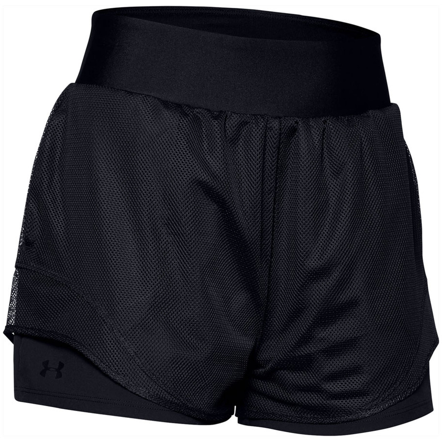 Under Armour Warrior Mesh Layer Shorts Black - XS