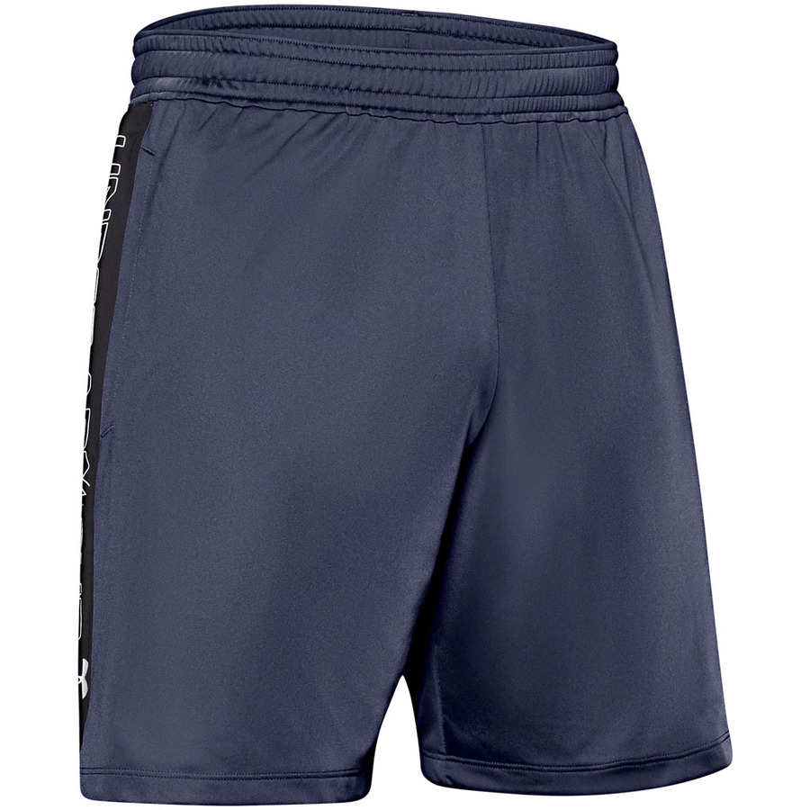 Under Armour MK1 7in Graphic Shorts Blue Ink - S
