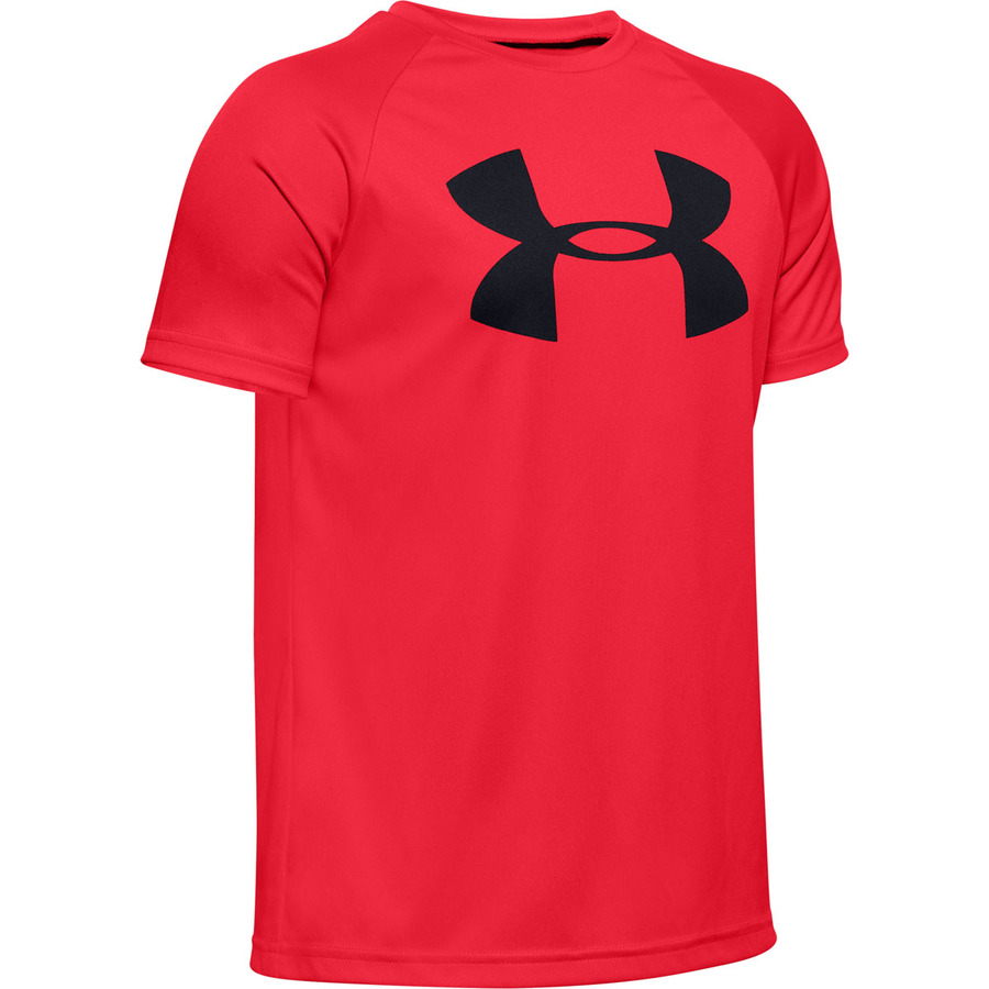 Under Armour Tech Big Logo SS Red - YM