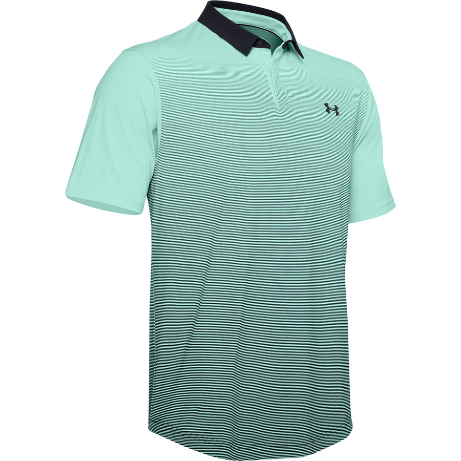 Under Armour Iso-Chill Gradient Polo Aqua Float - S