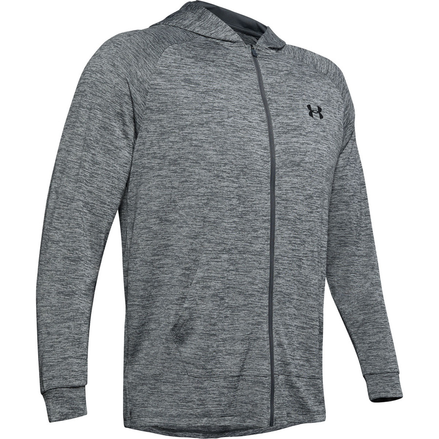 Under Armour Tech 2.0 Fz Hoodie Pitch Gray - S