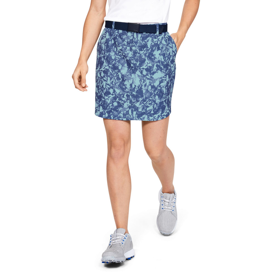 Under Armour Links Woven Printed Skort Blue Frost - 0
