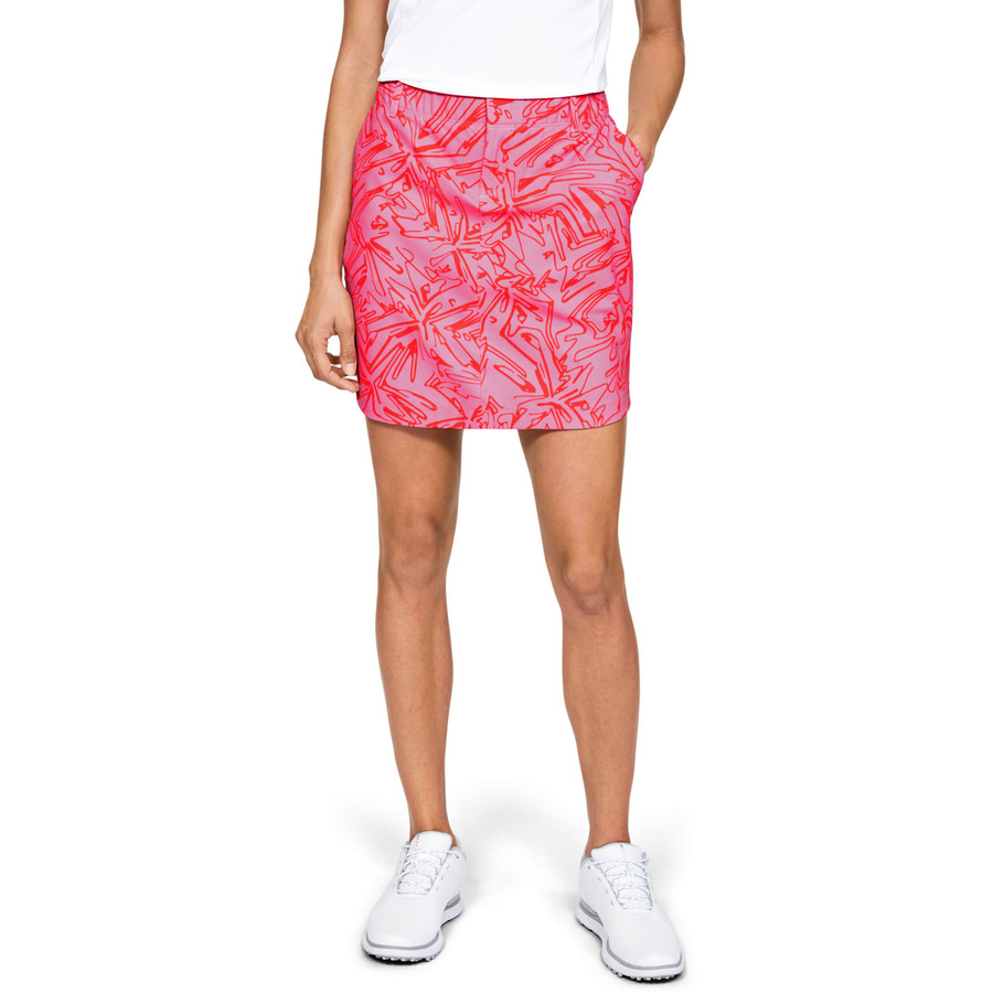 Under Armour Links Woven Printed Skort Lipstick - 0