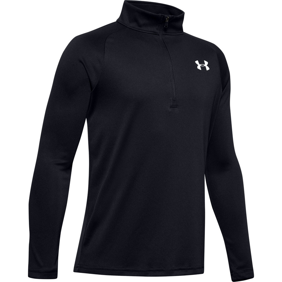 Under Armour Tech 2.0 12 Zip Black - YXS
