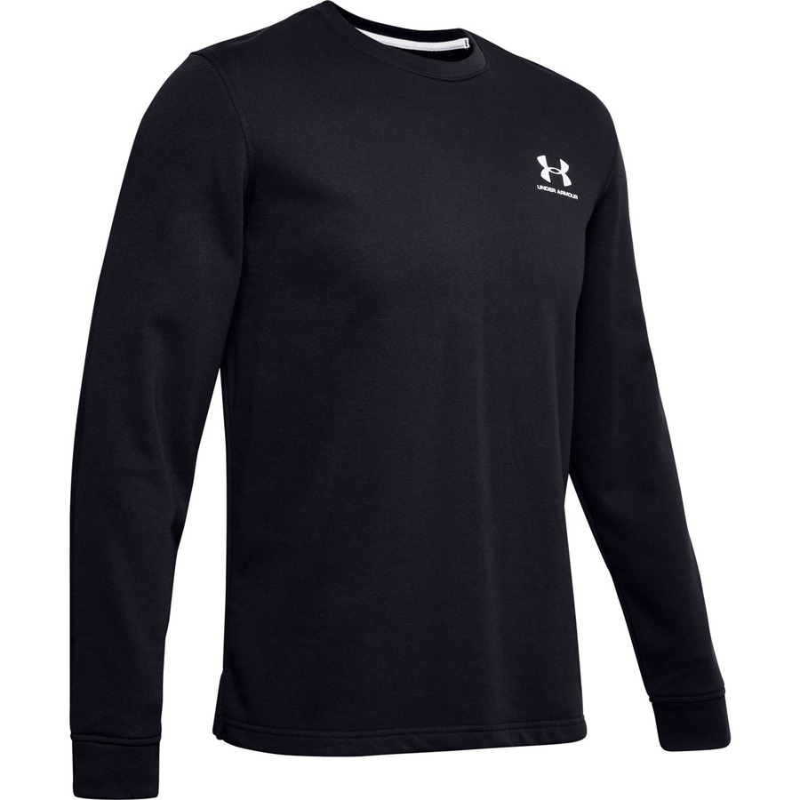 Under Armour Sportstyle Terry Logo Crew Black - S