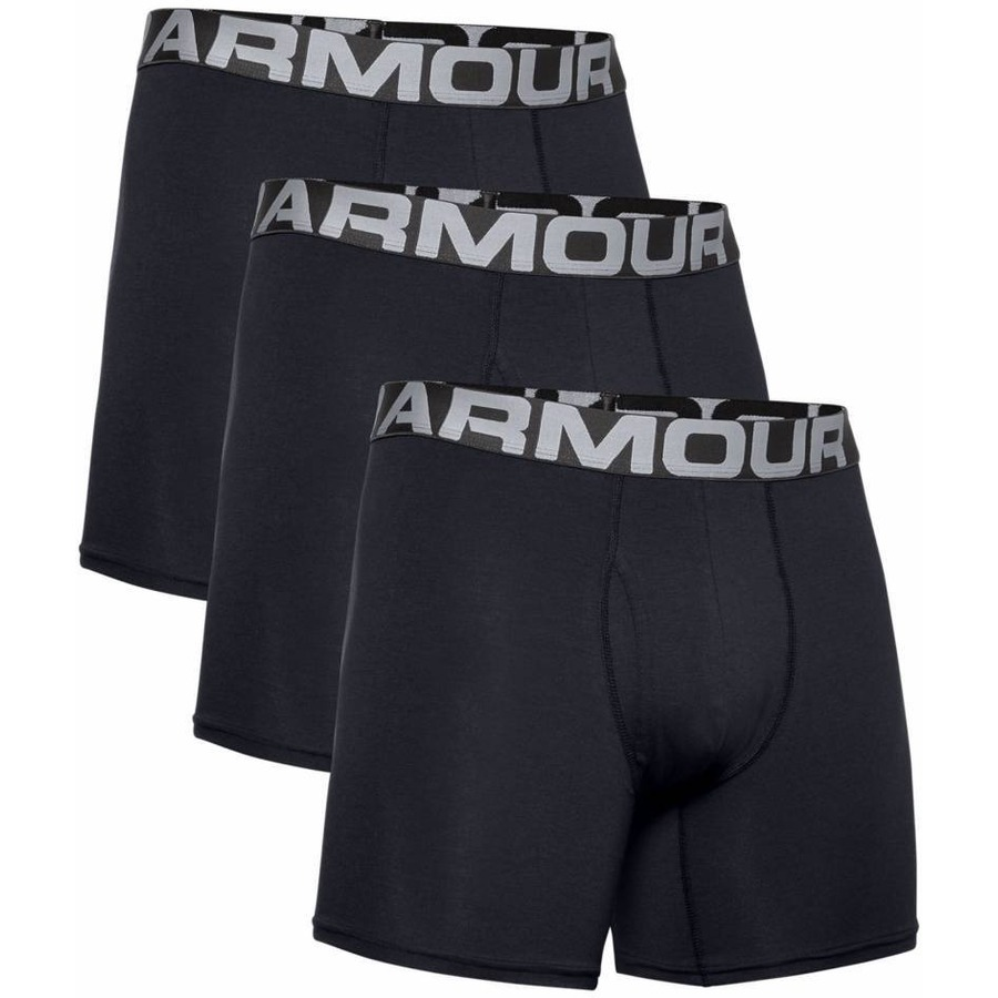 Under Armour Charged Cotton 6in 3 páry Black - S