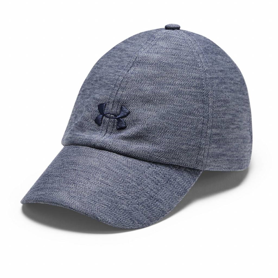 Under Armour Heathered Play Up Cap Blue Ink - OSFA