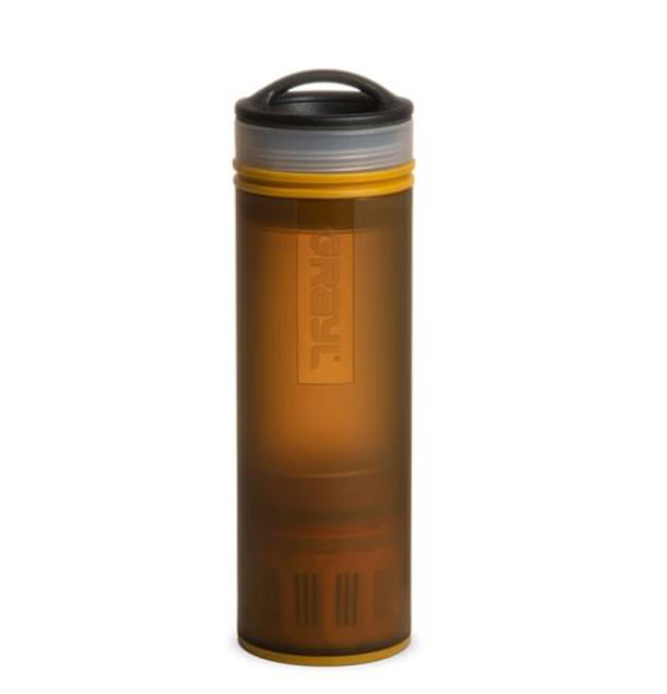 Grayl Ultralight Compact Purifier Coyote Amber