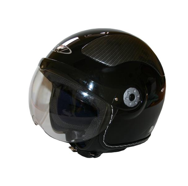 Moto přilba WORKER V580 černá - S (55-56)