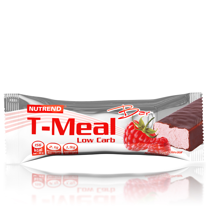 Tyčinka Nutrend T-Meal Low Carb malina