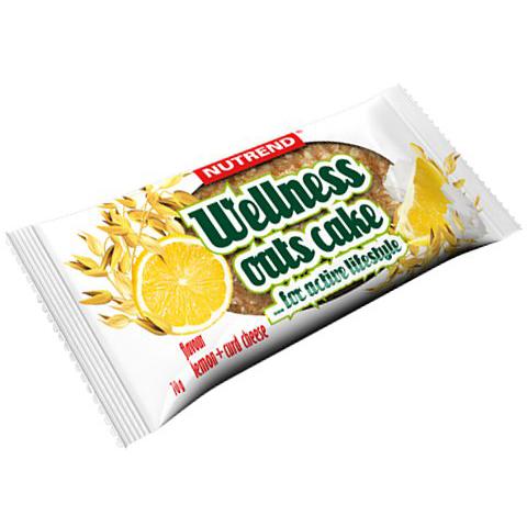 Tyčinka Nutrend 70g Wellnes Oats Cake citron-tvaroh