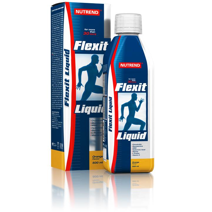 Kloubní výživa Nutrend Flexit Liquid 500 ml citron