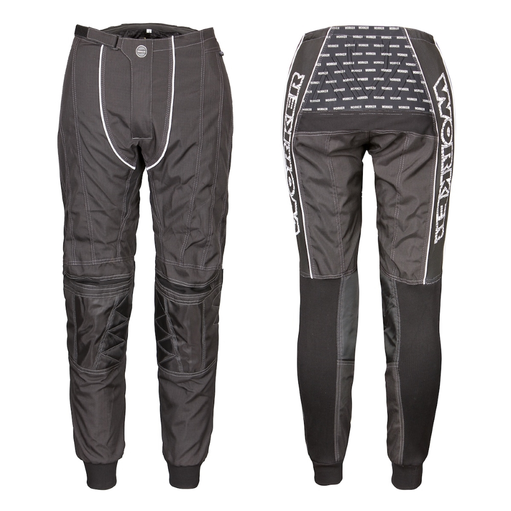 Motokrosové kalhoty WORKER Razzor Senior černá - L