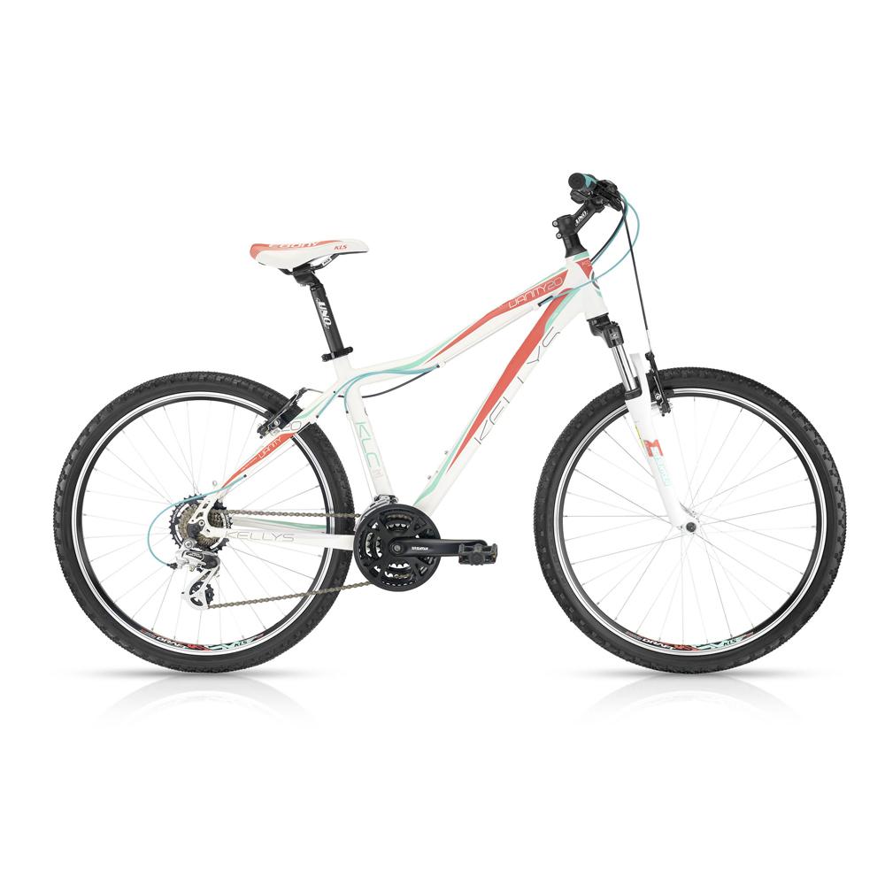 """Dámské horské kolo KELLYS VANITY 20 White 26"""" - model 2016 375 mm (15"""") - záruka 5 let"""