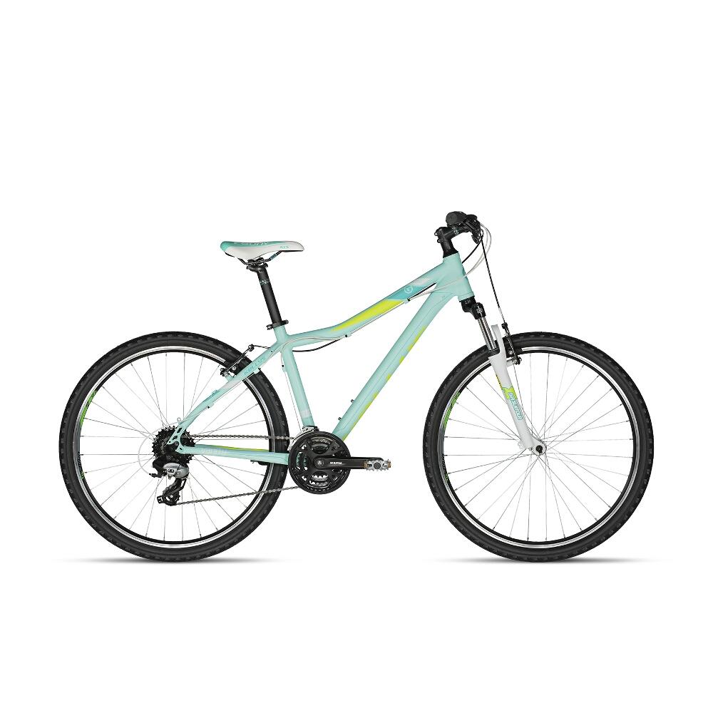 """Dámské horské kolo KELLYS VANITY 20 26"""" - model 2018 Aqua Lime - 15"""" - Záruka 10 let"""