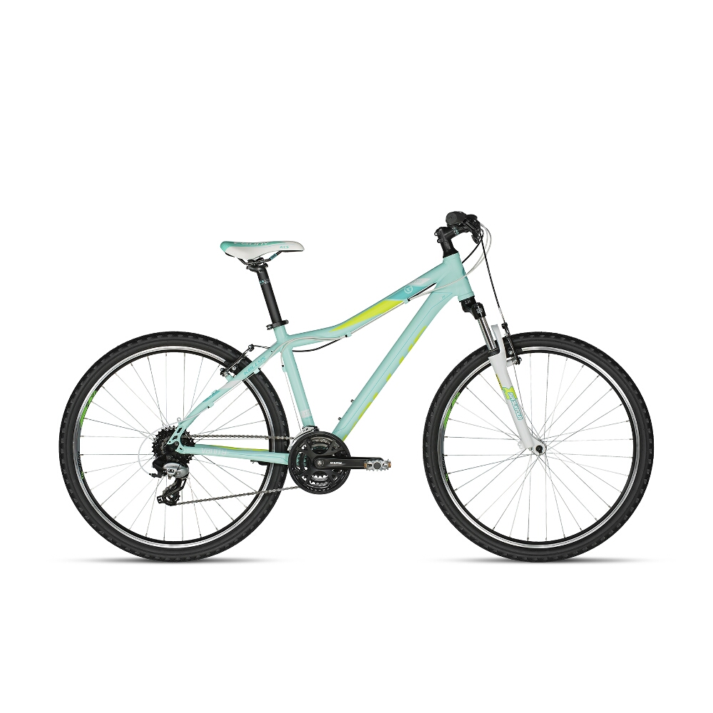 """Dámské horské kolo KELLYS VANITY 20 27,5"""" - model 2018 Aqua Lime - 17"""" - Záruka 10 let"""