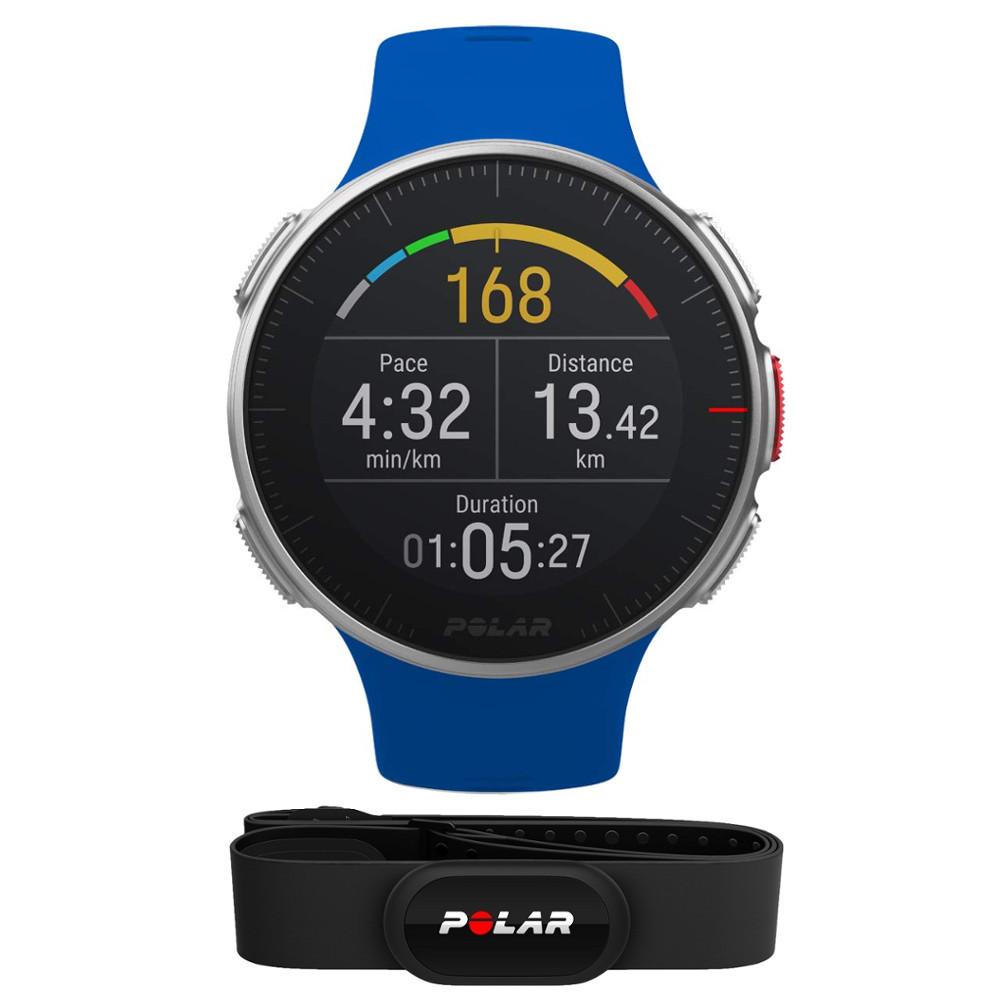 Sportovní hodinky POLAR Vantage V HR modrá