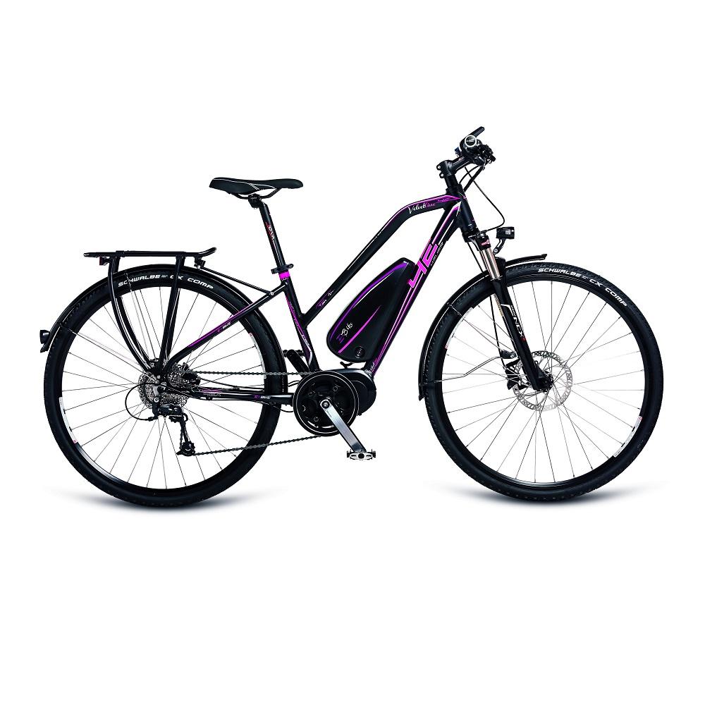 "Dámské trekingové elektrokolo 4EVER Velvetline AL E-Trekk - model 2017 16,5"" - Záruka 10 let"