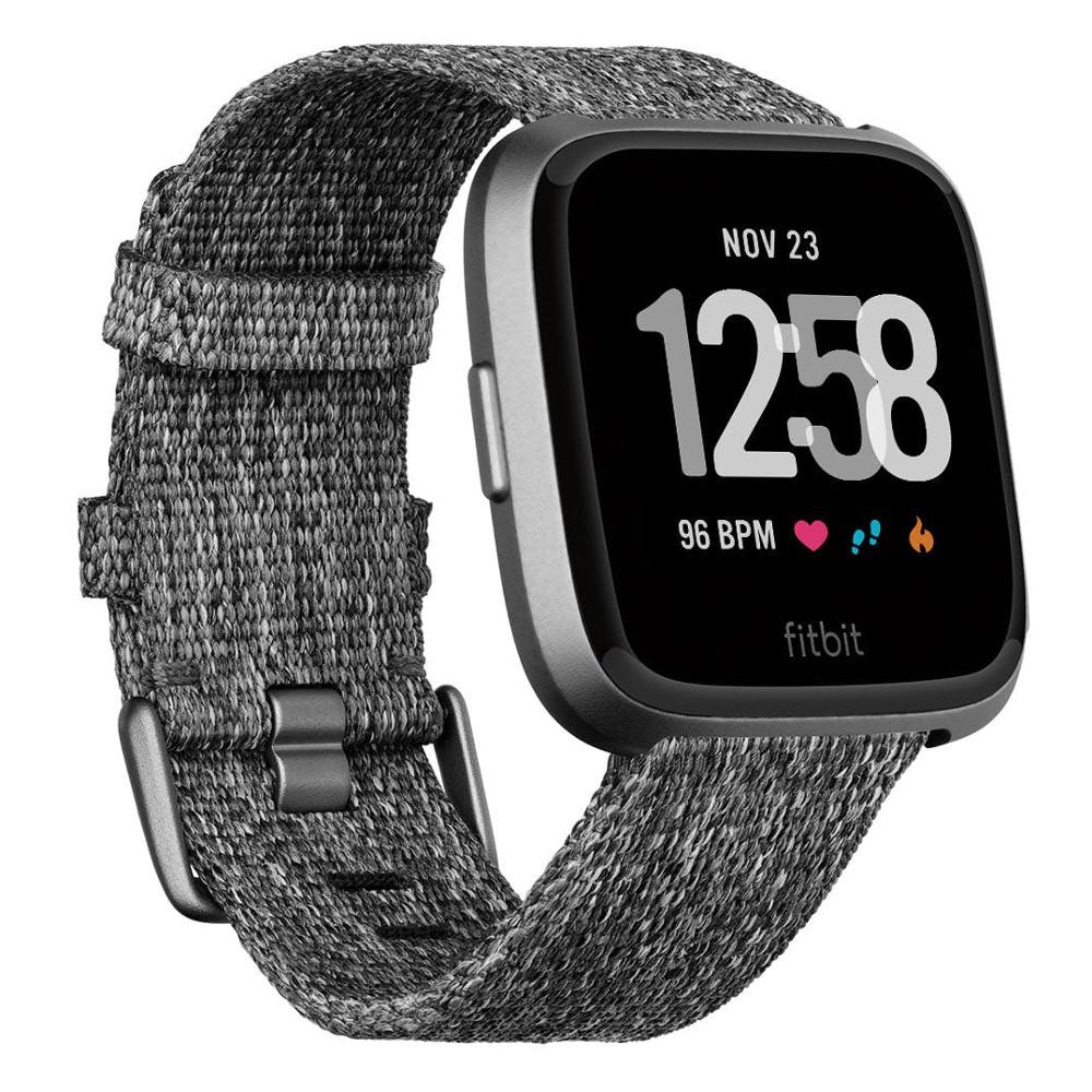 Chytré hodinky FITBIT Versa Charcoal Woven