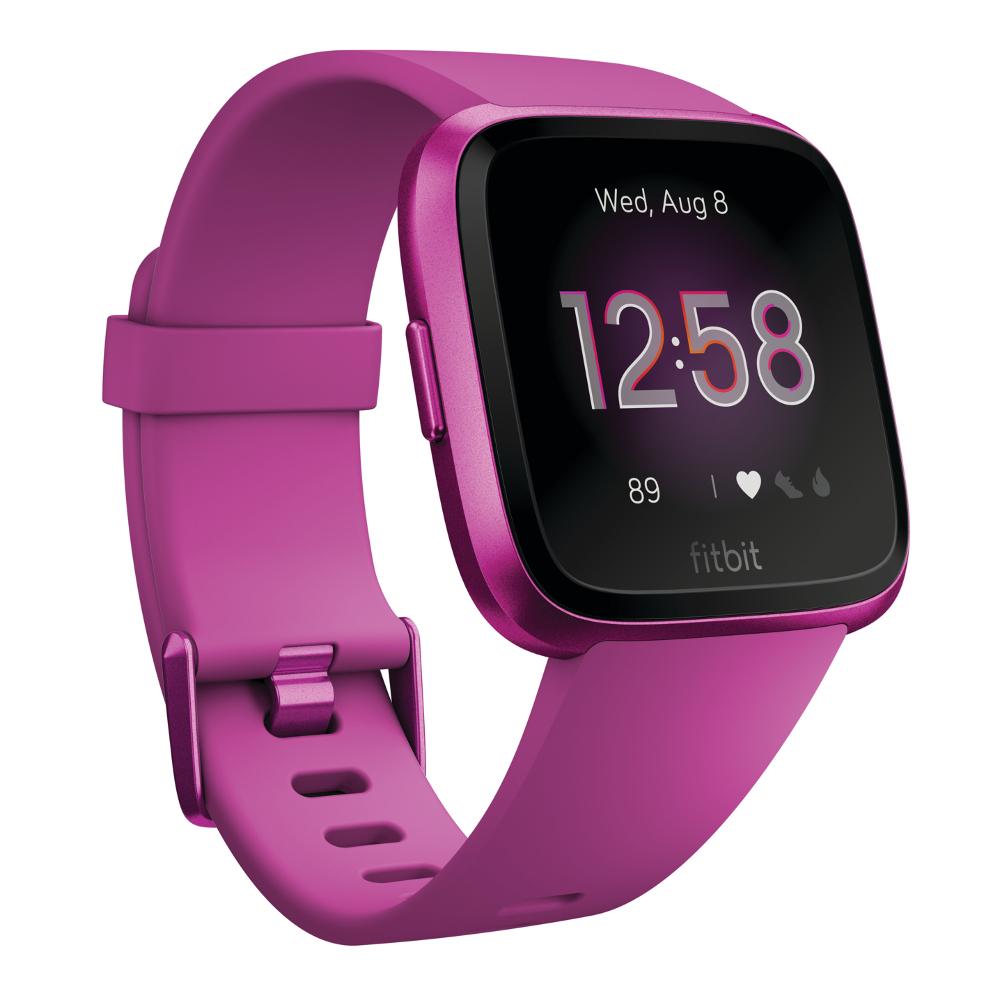 Chytré hodinky Fitbit Versa Lite Mulberry/Mulberry Aluminum