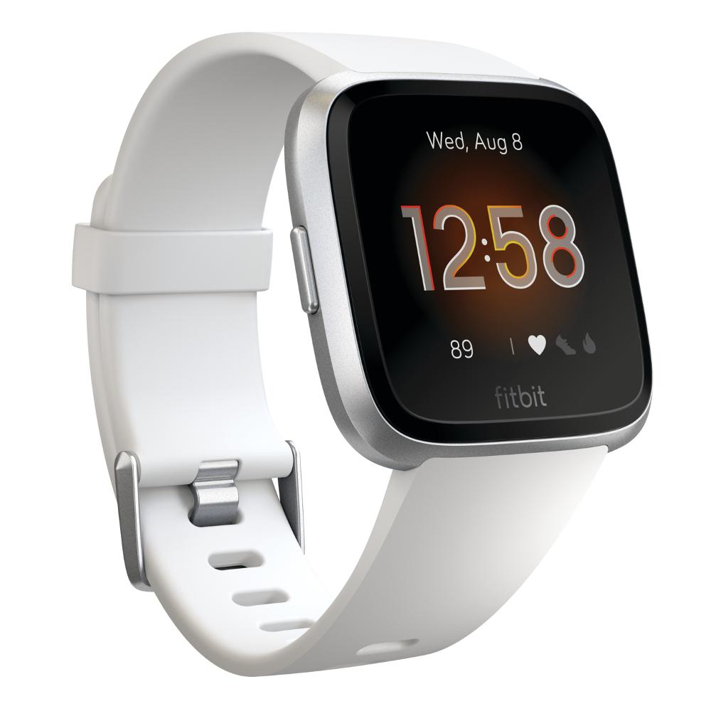 Chytré hodinky Fitbit Versa Lite White/Silver Aluminum