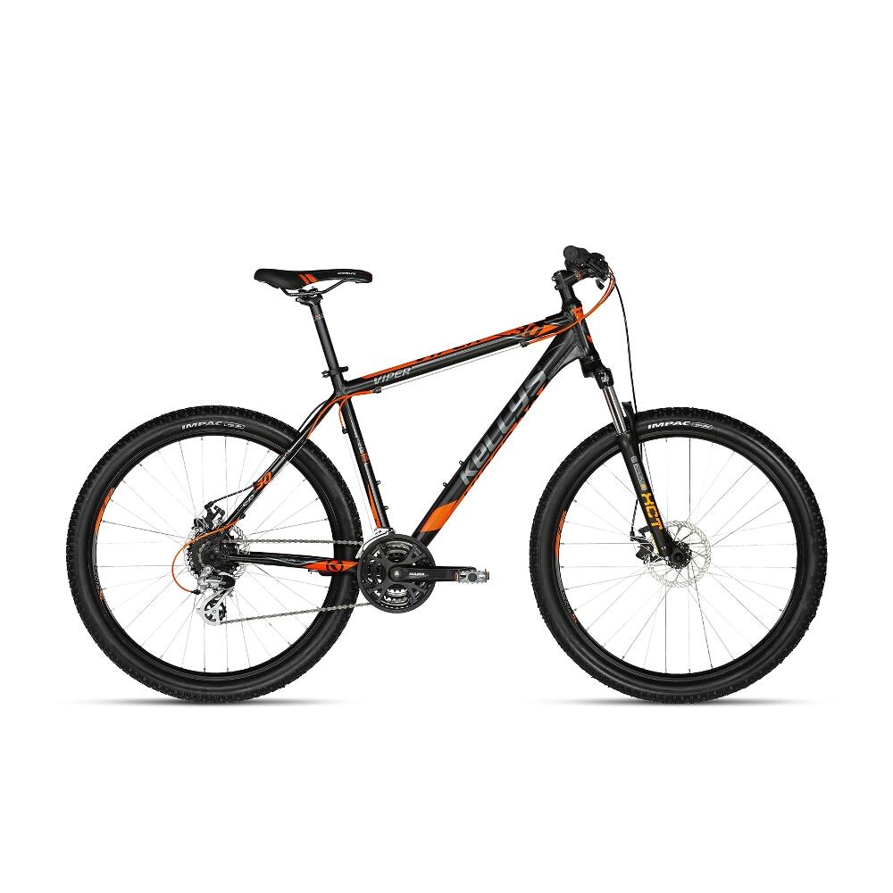 "Horské kolo KELLYS VIPER 30 27,5"" - model 2018 Black Orange - 495 mm (19,5"") - Záruka 10 let"