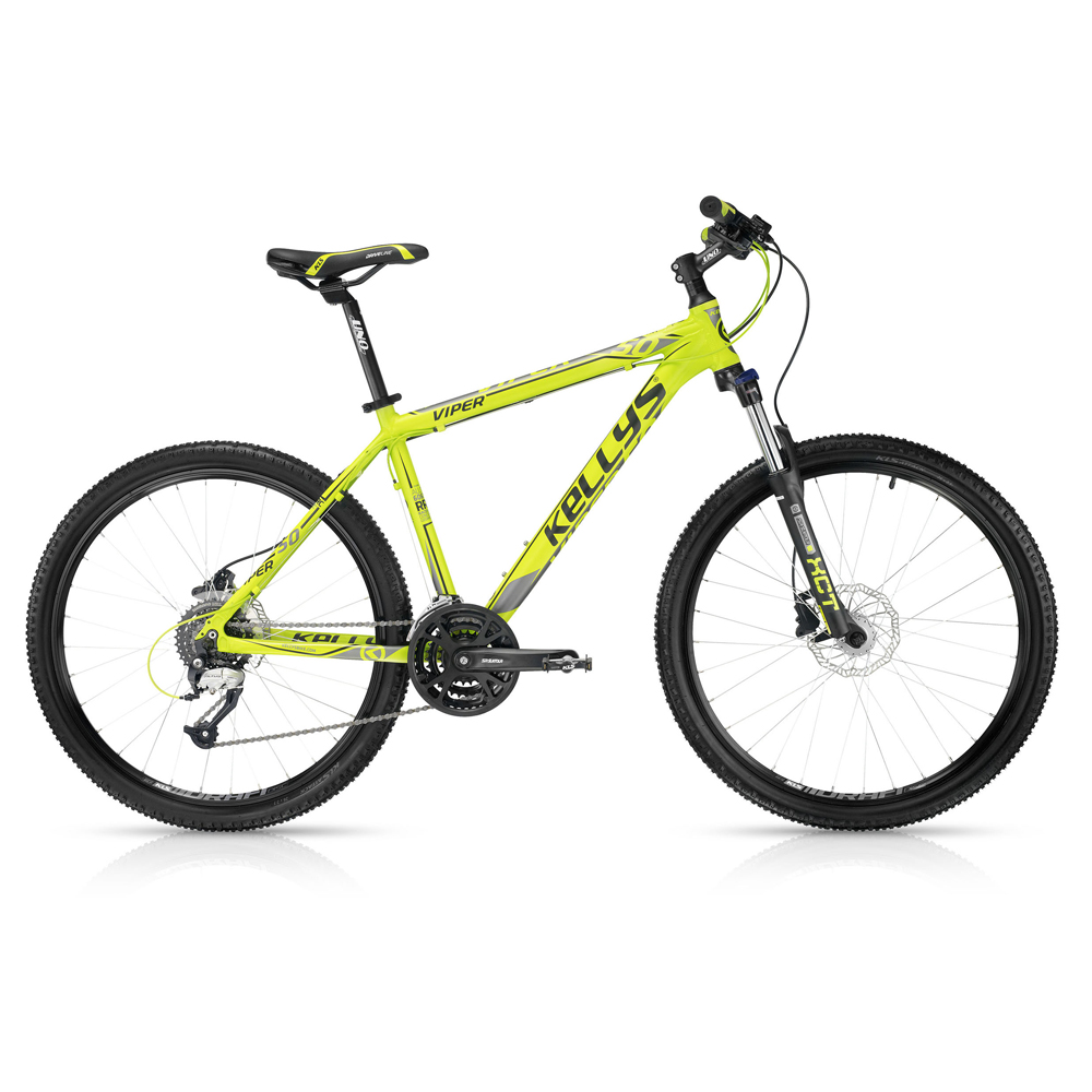 "Horské kolo KELLYS VIPER 50 Lime 26"" - model 2016 495 mm (19,5"") - Záruka 5 let"