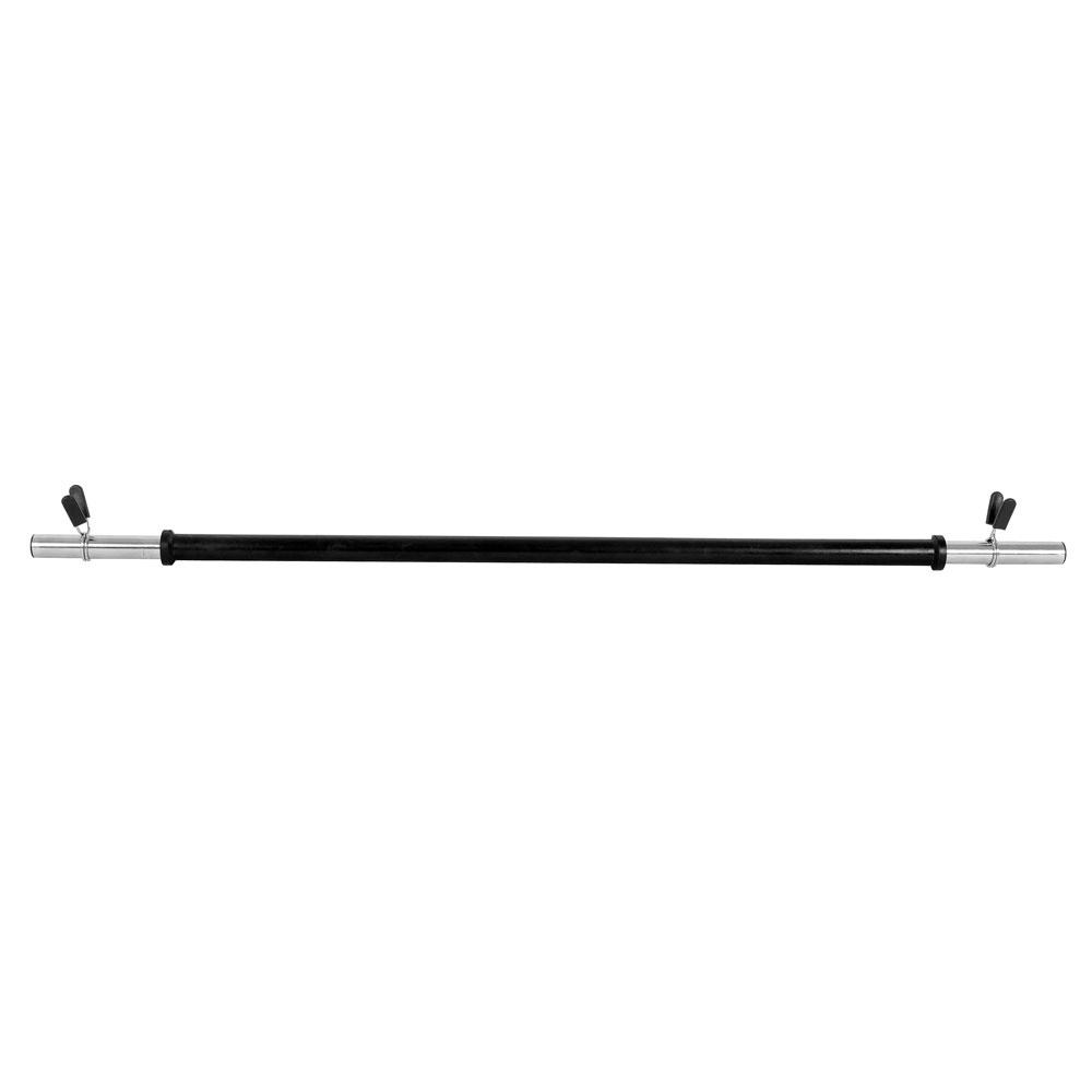 Vzpěračská tyč inSPORTline Pump - rovná 130cm / 30mm bez závitu