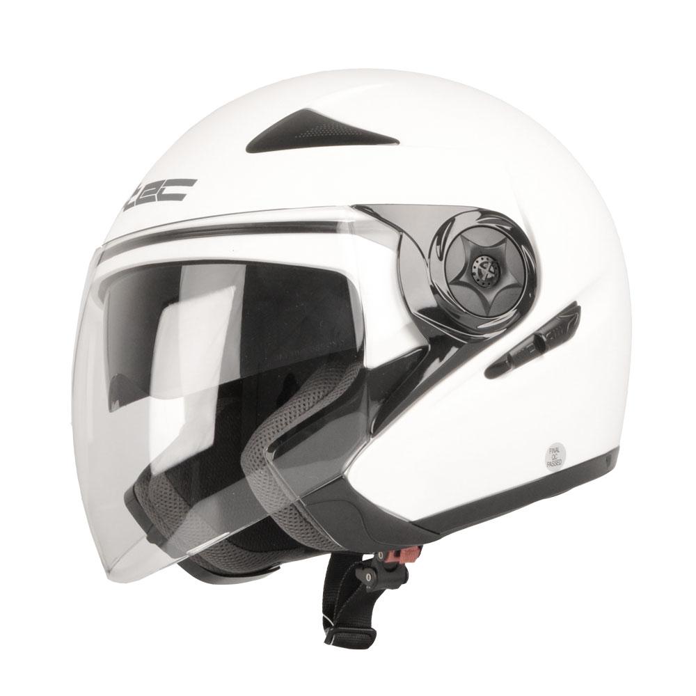 Moto přilba W-TEC NK-617 White Shine - XXL (63-64)