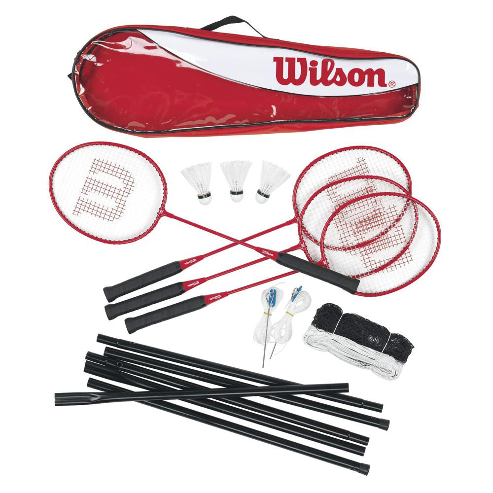 Sada na badminton Wilson Tour Set - 4 rakety
