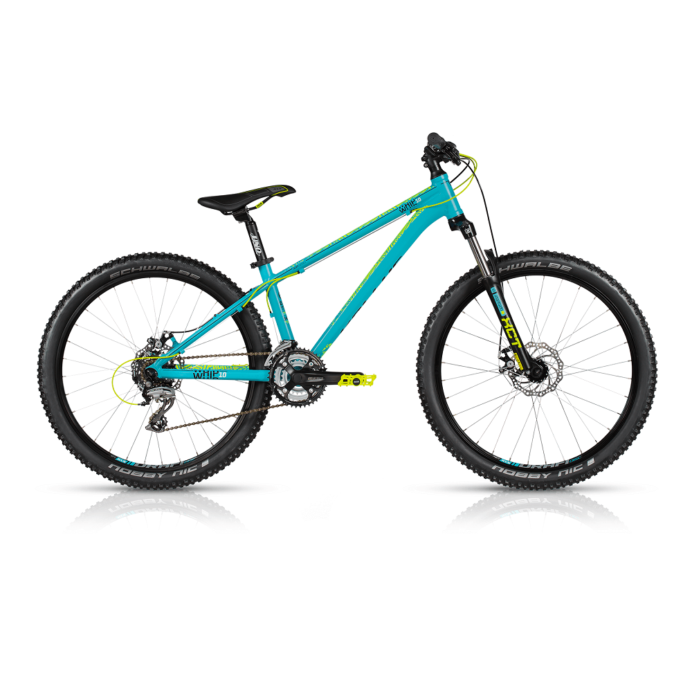 "Dirtové kolo KELLYS WHIP 10 26"" - model 2017 Blue - M - Záruka 10 let"